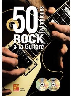 50 Rythmiques Rock à la Guitare Books and CDs | Guitar
