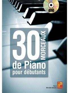 30 Morceaux de Piano pour Débutants Books and CDs | Piano