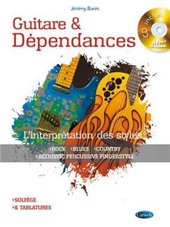 Bares Guitare Dependance Gtr Bk/Cd Books and CDs | Guitar