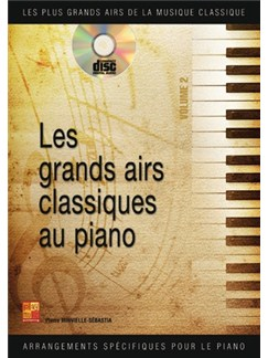 Grands Airs Classiques Piano 2 Bk/Cd Books and CDs | Piano