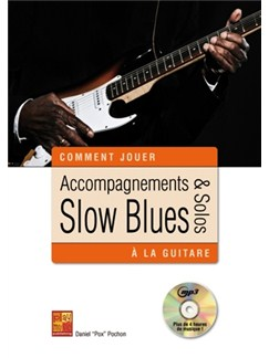 Acc & Solos Slow Blues Guitare Bk/Cd Books and CDs | Guitar