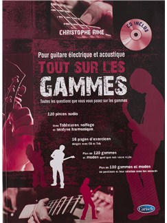 Christophe Rime: Tout Sur Les Gammes (Book/CD) Books and CDs | Guitar