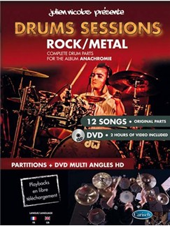 Nicolas Drums Sessions Drums Bk/Dvd Books and DVDs / Videos | Drums