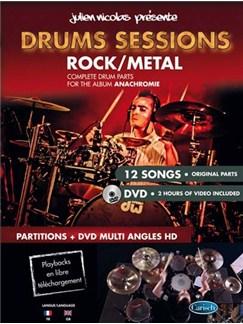 Nicolas Drums Sessions Drums Bk/Dvd DVDs / Videos y Libro | Batería