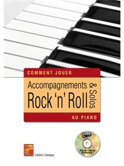 Acc & Solos Rock Roll Piano Pf Bk/Cd Books and CDs | Piano