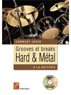 Groove Break Hard Metal Drums Bk/Cd Books and CDs | Drums
