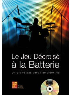 Marcel Jeu Decroise Batterie Bk/Cd Books and CDs | Drums