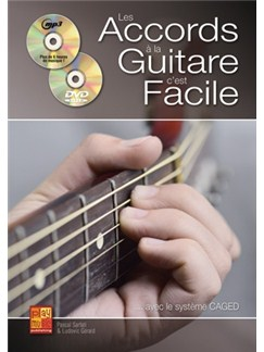 Gerald Accords Gtr Facile Bk/Cd/Dvd CD y Libro | Guitarra