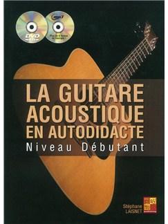 Stephane Laisnet: Guitare Acoustique Autodidacte (Book/CD/DVD) Books, CDs and DVDs / Videos | Guitar