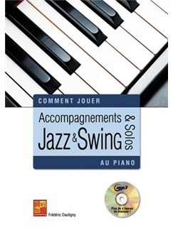 Accompagnements & solos jazz et swing au piano Livre | Piano