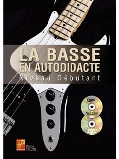 Tauzin Basse Autddct Debut Bk/Cd/Dvd Books and CDs | Bass Guitar