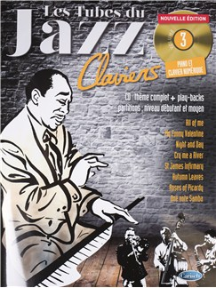 Tubes Du Jazz Claviers: Volume 3 (Book/CD) CD et Livre | Piano