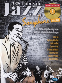 Tubes Du Jazz Saxophone: Volume 3 (Book/CD) Books and CDs | Saxophone