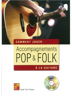 Accompagnements Pop & Folk A La Guitare Books and CDs | Guitar
