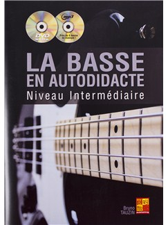 Bruno Tauzin: La Basse En Autodidacte - Niveau Intermediaire (Book/CD/DVD) Books, CDs and DVDs / Videos | Bass Guitar