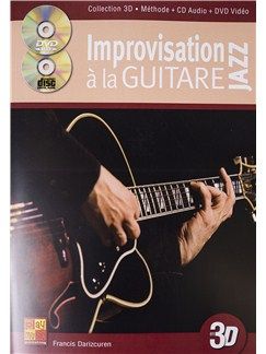 Francis Darizcuren: Improvisation A La Guitare Jazz (Book/CD/DVD) Books, CDs and DVDs / Videos | Guitar