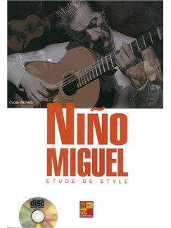 Claude Worms: Nino Miguel - Etude De Style (Book/CD) CD et Livre | Guitare