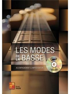 Bruno Tauzin: Les Modes Pour La Basse (Book/CD) Books and CDs | Bass Guitar