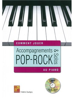 Frederic Dautigny: Comment Jouer - Accompagnements & Solos Pop-Rock Au Piano (Book/CD) Books and CDs | Piano