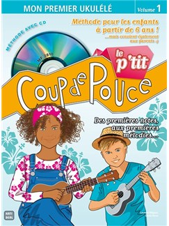 Le P'tit Coup De Pouce Ukulélé (Book/CD) Books and CDs | Ukulele