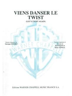 Johnny Hallyday: Viens Danser le Twist Books | Piano & Vocal