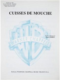 Pierre Perret: Cuisses De Mouche Livre | Voix, Accompagnement Piano