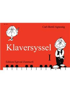 Carl-Bertil Agnestig Klaversyssel 1 (Piano) Bog | Klaver solo