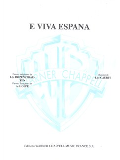 E Viva España Books | Piano & Vocal