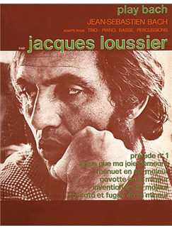 Jacques Loussier: Play Bach Books | Piano