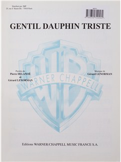 Gerard Lenorman: Gentil Dauphin Triste Books | Voice, Piano Accompaniment