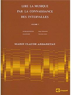 Lire la Musique par La Connaissance des Intervalles Volume 1 Books | All Instruments