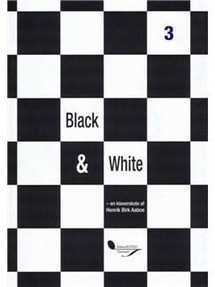 Henrik Birk Aaboe Andersen: Black & White 3 (Piano) Bog og CD | Klaver solo