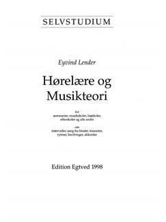 Eyvind Lender: Selvstudium i Hørelære Og Musikteori (Piano) Bog | Klaver, sang og guitar