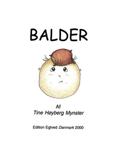 Tine Høyberg Mynster: Balder (Book And CD) Bog | Tekst og becifring