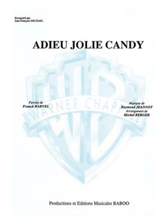 Jean-François Michael: Adieu Jolie Candy Books | Piano & Vocal