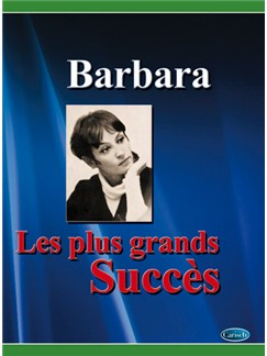 Barbara: Plus Grands Succès (Les) Livre | Piano, Vocal & Guitar