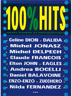 100% Hits, Volume 1 Livre | Piano, Vocal & Guitar