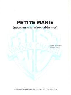 Francis Cabrel: Petite Marie Livre | Guitar Tab