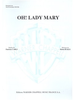 Oh ! Lady Mary Books | Piano & Vocal