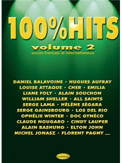 100% Hits, Volume 2 Books | Piano, Vocal & Guitar