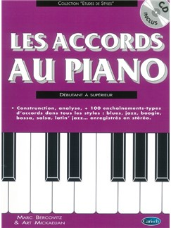 Les Accords Au Piano (Book/CD) Books and CDs | Piano