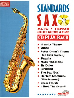 Standards Saxo  Alto et Ténor Books and CDs | Saxophone