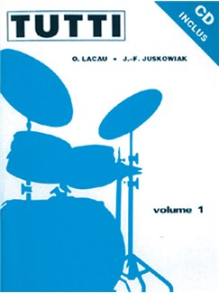 Tutti - Volume 1 CD et Livre | Drums