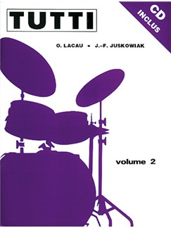Tutti - Volume 2 (Book/CD) Books and CDs | Drums