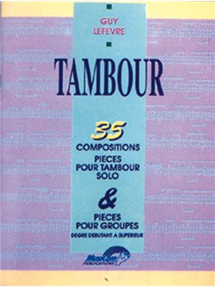 35 Compositions pour Tambour Books | Drums
