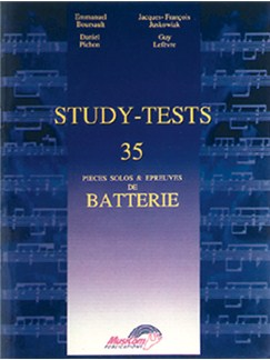 Study-Tests Livre | Drums