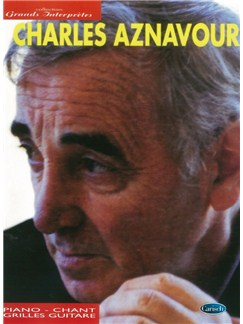 Collection Grands Interpretes: Charles Aznavour Books | Piano, Vocal & Guitar