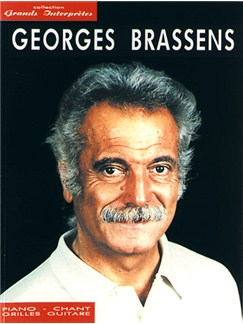 Georges Brassens: Collection Grands Interprètes Books | Piano, Vocal & Guitar