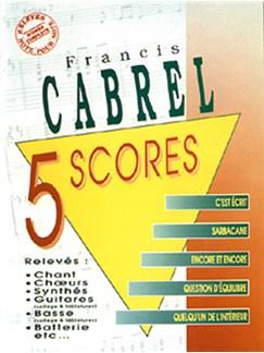 Francis Cabrel: 5 Scores Books | Band Score