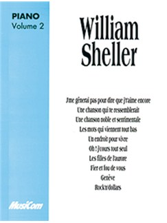 William Sheller: Volume 2 Libro | Piano y Voz